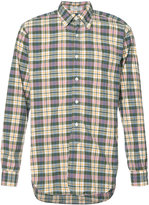 Engineered Garments plaid longsleeve shirt - men - Cotton - S