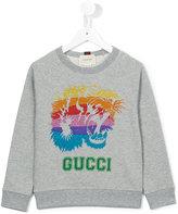 Gucci Kids logo print sweatshirt