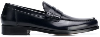 Doucal's Slip-On Penny Loafers
