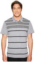 RVCA Sure Thing Stripe Polo II Men's Short Sleeve Pullover