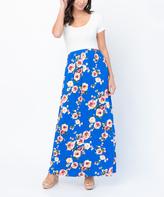 Royal Floral Maxi Dress