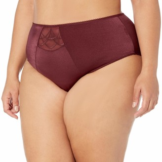 Elomi Women's Plus Size Cate Embroidered Full Coverage Brief