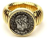 Ben-Amun Roman Coin Gold Coin Ring