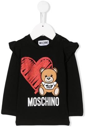 Moschino Kids Teddy jumper
