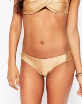 Vero Moda Gathered Side Detail Bikini Bottoms
