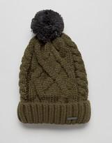 Diesel Knitted Wool Bobble Beanie