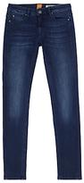 HUGO BOSS BOSS Orange J20 Slim Leg Jeans, Blue Wash Denim