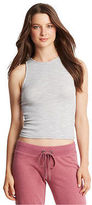 Aeropostale Womens Heather Ribbed Bodycon Tank Shirt