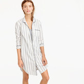 J.Crew Striped nightshirt
