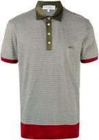 Salvatore Ferragamo striped polo shirt - men - Cotton - XL
