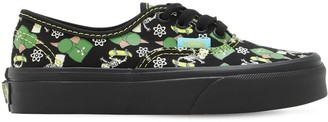 Vans Printed Cotton Canvas Sneakers