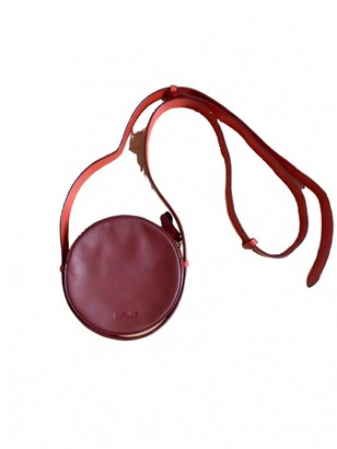 Diane von Furstenberg Burgundy Leather Handbags