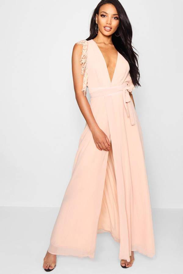 acf5a66e657f boohoo Pink Maxi Dresses - ShopStyle