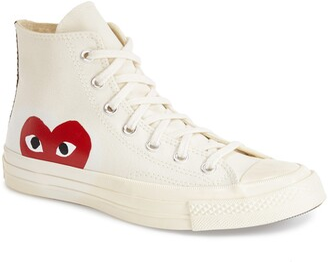 Comme des Garcons x Converse Chuck Taylor® Hidden Heart High Top Sneaker