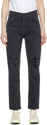 Citizens of Humanity Black High-Rise Charlotte Jeans