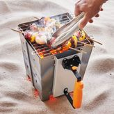 Sur La Table Combination Charcoal Starter and Compact Grill