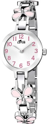 Lotus Girls Analogue Quartz Watch with Stainless Steel Strap 15829/2