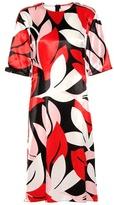 Marni Printed Satin Dress
