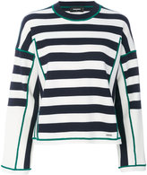 DSQUARED2 striped wool sweater