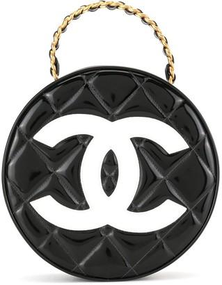 Chanel Pre Owned 1995 Chain Vanity Round Handbag