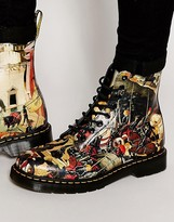 Dr Martens 3 Eye D'antonio Print Boots