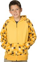 JINX Minecraft Ocelot Youth Premium Zip-Up Hoodie