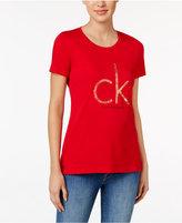 Calvin Klein Jeans Metallic Logo Graphic T-Shirt