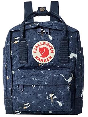 Fjallraven Kanken Art Mini (Blue Fable) Backpack Bags