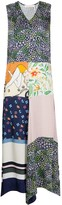 See by Chloe floral patchwork dress