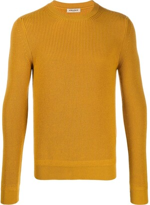 Al Duca D'Aosta 1902 Ribbed Crew Neck Jumper