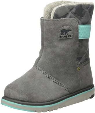 Sorel Girl's Boots Youth Rylee Camo Black/Light-Bisque Size: UK Child 1