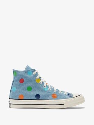 Converse Multicolour X Golf Wang ed Chuck 70 Polka Dot Sneakers