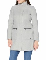 Thumbnail for your product : Tom Tailor Women's Basic Wollmantel Wool Coat