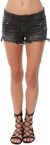C&C California CandC California Perry Low Rise Short With Uneven Hem
