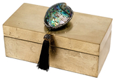 Mapleton Drive Medium Box with Abalone Shell