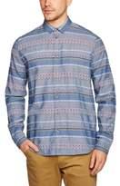Samsoe & Samsoe Samsoe and Samsoe Men's Liam Dx Regular Fit Classic Long Sleeve Casual Shirt