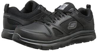 Skechers Flex - Advantage (Black) Men's Work Boots