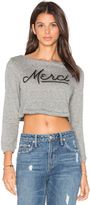 Clayton Merci Long Sleeve Crop Top