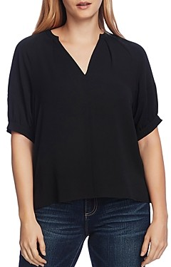 Vince Camuto Split Neck Top