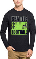 '47 Men's Seattle Seahawks Compton Club Long-Sleeve T-Shirt