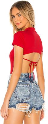 superdown Yara Tie Back Bodysuit