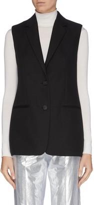 Helmut Lang Tailored sleeveless blazer