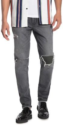 Hudson Zack Ripped Skinny Jeans