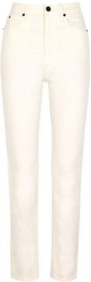 SLVRLAKE Beatnik White Slim-leg Jeans