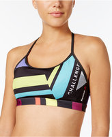 Reebok Hero Printed Speedwick Medium-Impact Sports Bra