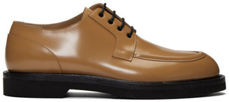 Dries Van Noten Tan Lace-Up Derbys