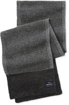 Nautica Men's Two-Tone Stitched Scarf