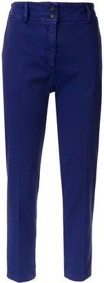 No.21 Slim Cropped Trousers