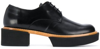 Paloma Barceló Chunky Sole Lace-Up Loafers