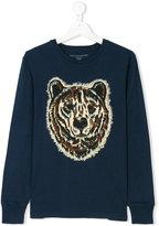 Stella McCartney Teen bear print sweatshirt